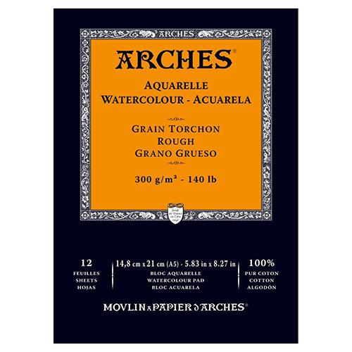 Arches Watercolour Pad Rough 300GSM - A5