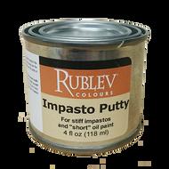 Rublev Oil Medium Impasto Putty 4 Fl Oz   530-32504