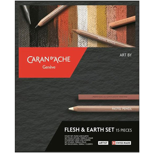 Art by Caran D'Ache Flesh and Earth Set | 776.615