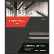 Art by Caran D'Ache Sketching Set   776.714