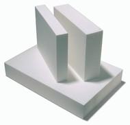 Polystyrene Foam Block White - 80mm x 410mm x 600mm