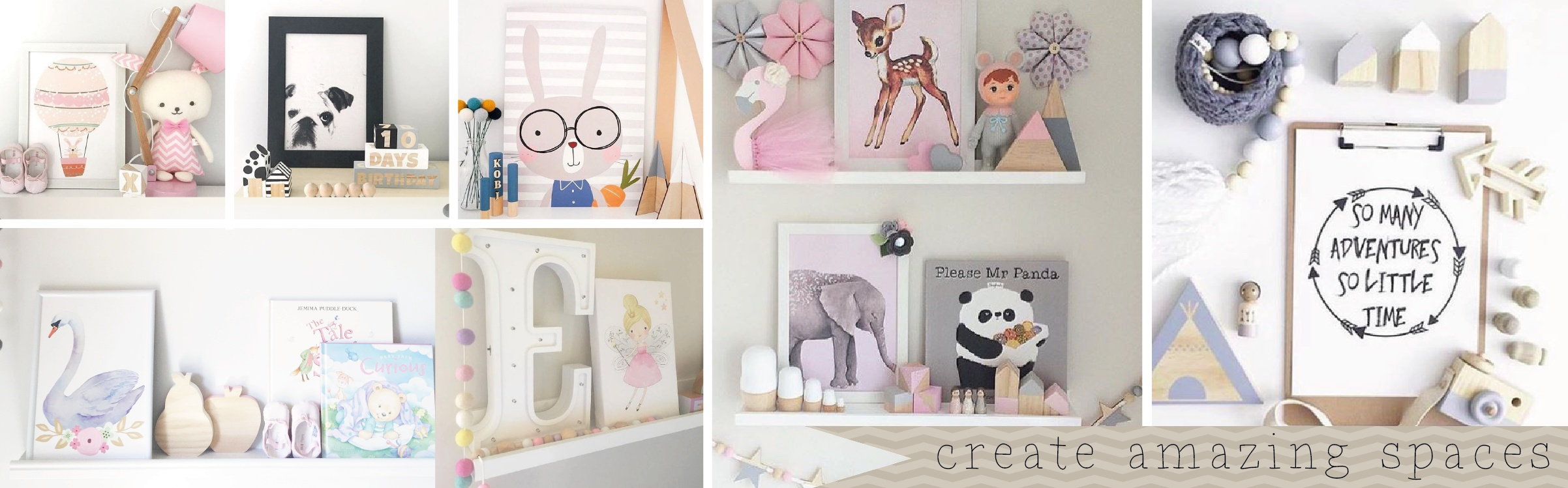 Nursery and kids bedroom prints
