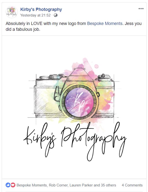 Kirby's Photography Facebook Page
