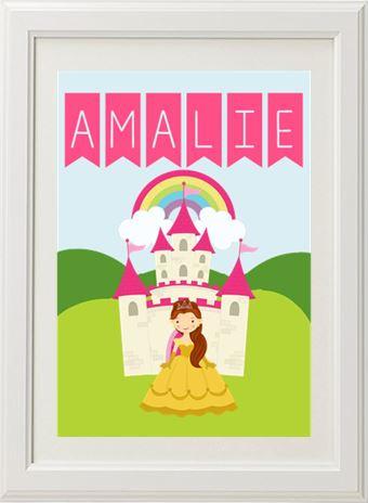 Product image of Princess Name Print