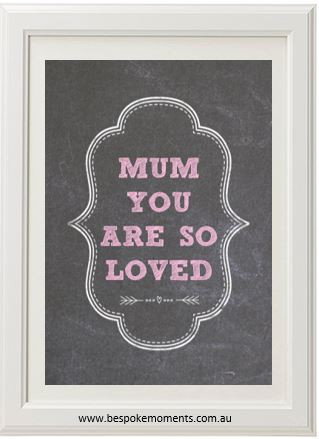 Product image of Mum You Are So Loved Print