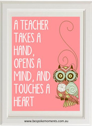 Product image of Teacher Takes A Hand Print