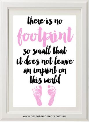 Product image of Pink Footprint Print
