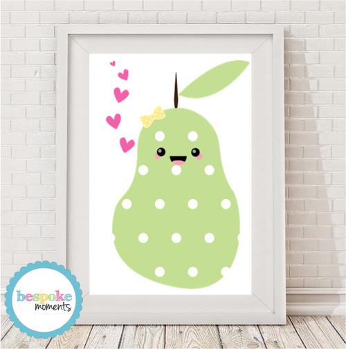 Product image of Kawaii Pear Print