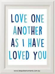 Product image of Love One Another Print
