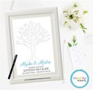 Wedding Fingerprint Tree 1