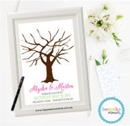 Wedding Fingerprint Tree 2