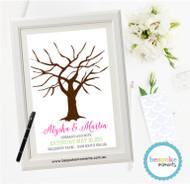 Wedding Fingerprint Tree 2