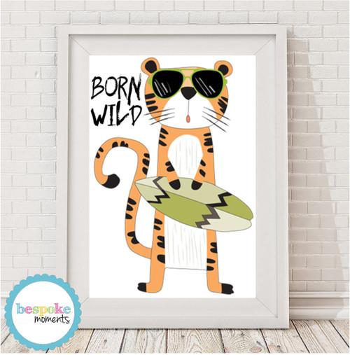 Product image of Born Wild Tiger Print