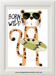 Born Wild Tiger Print
