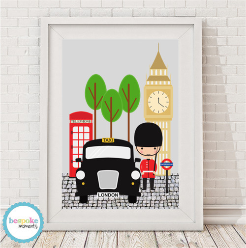 Product image of Best of London Print
