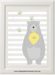 Honey Bear Print