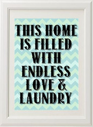 Product image of Endless Love & Laundry Print
