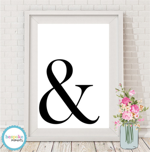 Product image of Ampersand Print