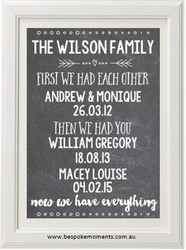 First We Had Each Other Family Print