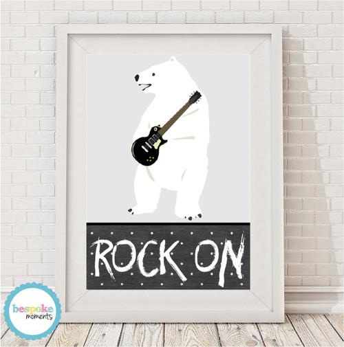 Product image of Rock On Polar Bear Print