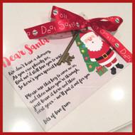 Magical Santa Key For 'No Chimney' Homes - FREE SHIPPING