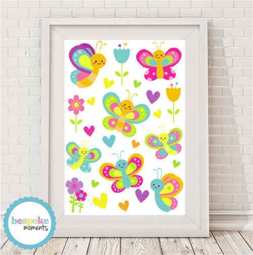 Product image of Butterfly Wonderland print
