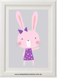 Milly Bunny Purple Print