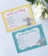 Wishes For Baby Cards - Pack of 12