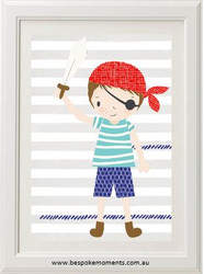 Pirate Adventure Print
