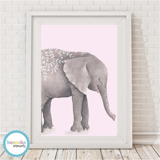 Boho Tribal Elephant Print Pink - Bespoke Moments