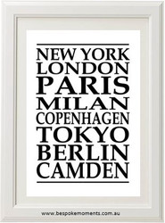Your Famous Town Print