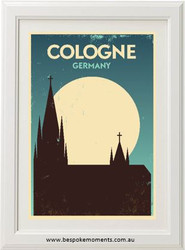 Vintage City Print - Cologne