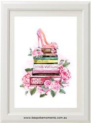 Passion For Fashion Watercolour Print