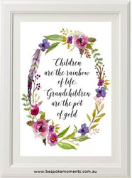 Children and Grandchildren Print