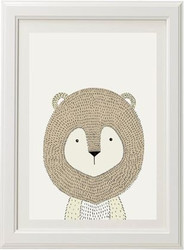 Neutral Lion Print