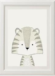 Neutral Tiger Print