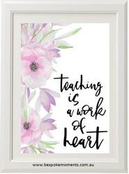 Work of Heart Print