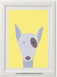Patch Puppy Print