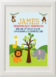 Jungle Birth Print