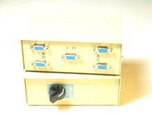SVGA Manual Switch Box 2 Way HD15