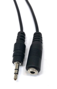 Audio 3.5mm Stereo Male/Female - 6ft