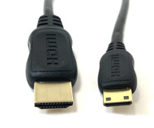 Mini HDMI to HDMI Cable/Adapter - 1 ft