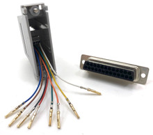 Modular Adapter DB25F to RJ45F