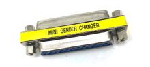 DB25 Gender Changer Female to Female Slimline