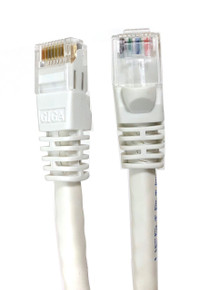 Category 6 UTP RJ45 Patch Cable White - 7 ft