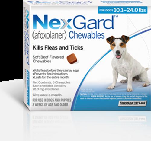 Nexgard for Dogs 10.1-24 lbs - 6 Pack