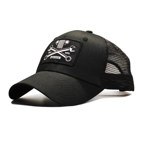 Crossed Wrench Snapback Cap