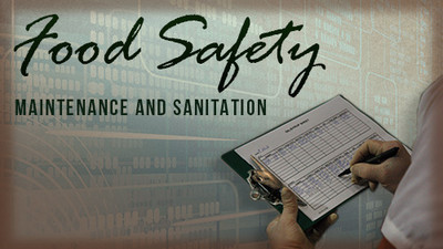 Food Safety: Maintenance and Sanitation Safety Training DVD