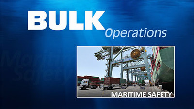 Bulk Operations: Maritime Safety