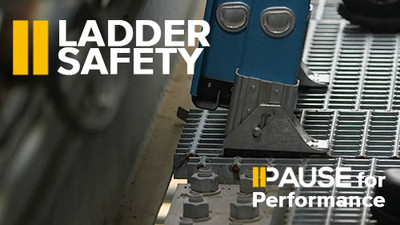 Pause for Performance: Ladder Safety